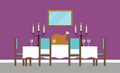 Dining Vector Empty Background Clip Illustration Illustrations