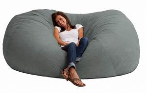 Comfort research fuf bean bag sofa reviews wayfair for Bean bag sofas and chairs