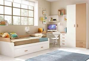 Enfant Lit Fille : chambre pour enfant cosy avec son lit gigogne glicerio so nuit ~ Teatrodelosmanantiales.com Idées de Décoration