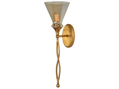 Uttermost Glam Gold Wall Sconce