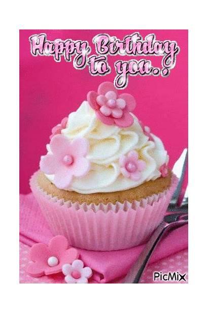 Birthday Cupcake Happy Picmix March