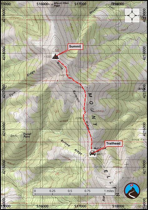 hiking mt ellen garfield county highpoint road trip ryan