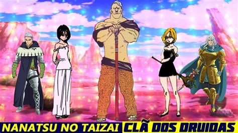 nanatsu  taizai os  pecados capitais  cla dos