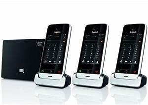 Combiné Téléphone Fixe : siemens gigaset sl910a trio t l phone sans fil r pondeur 3 combin s ~ Medecine-chirurgie-esthetiques.com Avis de Voitures