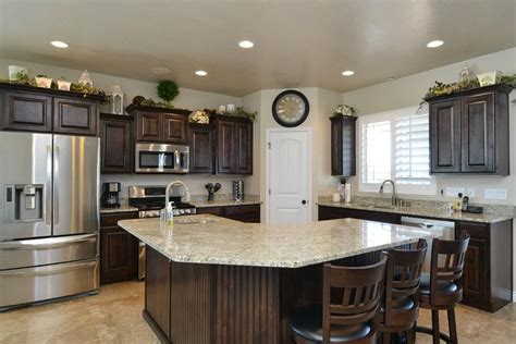 Island Pantry The Hollister 3800 Kitchen Built In Weber County Utah