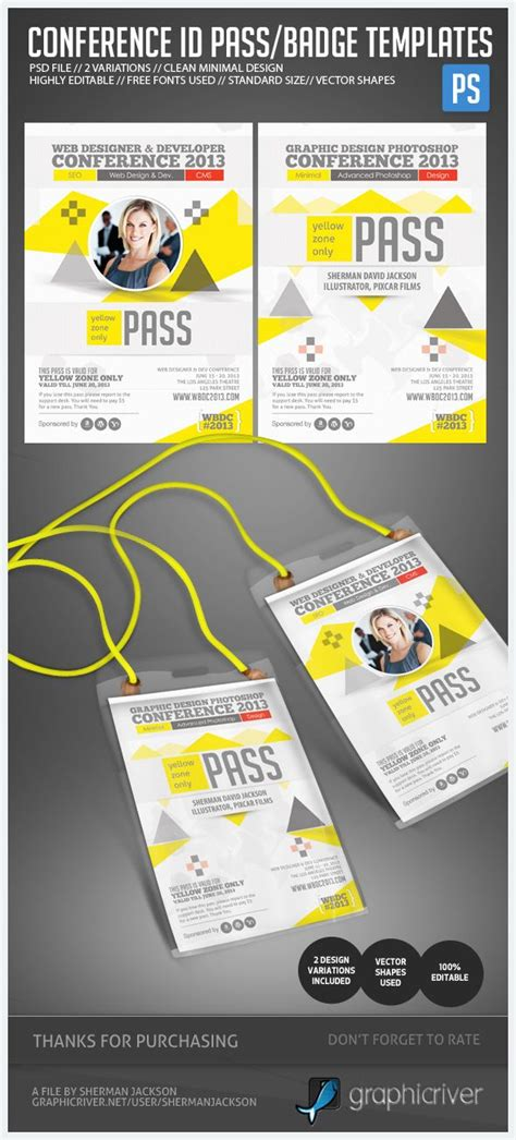 Event Name Tag Template by 47 Best Images About Id Badge On Card Designs
