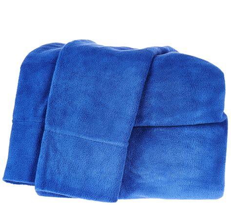 malden mills polar fleece queen solid sheet set page  qvccom