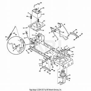 Troy Bilt 13yx78ks011 Bronco  2013  Parts Diagram For