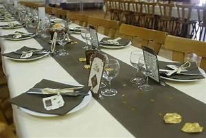 Deco Table Anniversaire Femme : decoration de table 50 ans mariage ~ Melissatoandfro.com Idées de Décoration