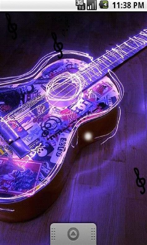 Neon Light Live Wallpaper by Neon Light Classic Guitar Live Wallpaper Free Android Live
