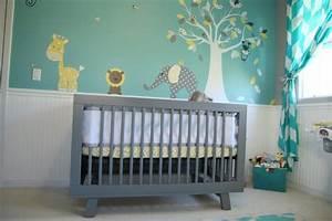 Kinderzimmer Blau Grau : farben im kinderzimmer sch n kombinieren 56 beispiele ~ Markanthonyermac.com Haus und Dekorationen