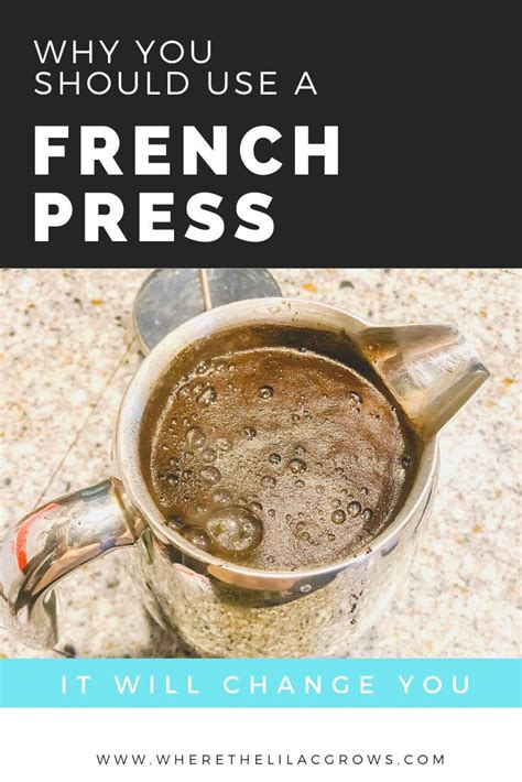 The personalization of my morning cup of coffee is part of the fun of using a french press. French Press Coffee | French press coffee, Coffee smoothies, Ways to make coffee