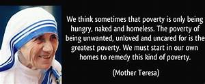 Living in pover... Food Poverty Quotes