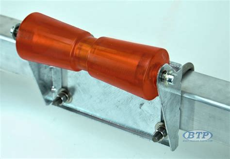 Boat Trailer Rollers Bolts by 8 Inch Galvanized Keel Roller Bracket For Boat Trailer