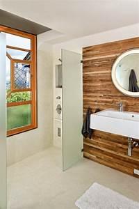 Wasserfeste Wandverkleidung Bad : die besten 25 badezimmer ohne fliesen ideen auf pinterest ~ Lizthompson.info Haus und Dekorationen