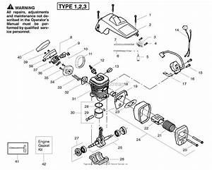 Poulan Pp260 Gas Saw Type 1  260 Gas Saw Type 1 Parts