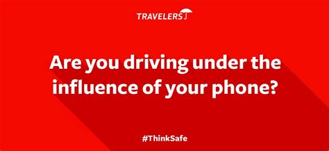 phone distraction test travelers insurance