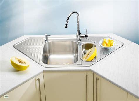Corner Sink by Corner Sink Stainless Steel Sink Unit Pixel 60 Kitchen