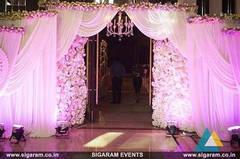 wedding reception entrance wording wedding and reception door entrance decorations in pondicherry chennai cuddalore sigaram