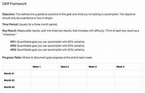 how companies like google set and accomplish their goals With google okr template