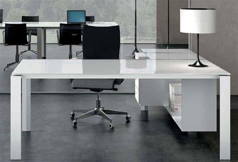 bureau de direction blanc bureau direction en verre blanc ou couleur tout le