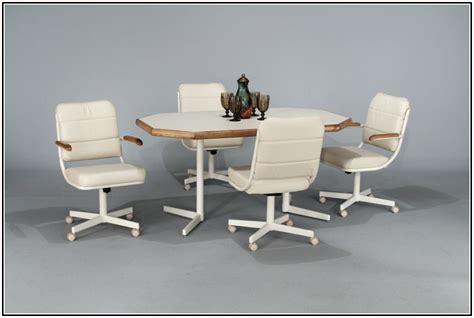 kitchen chairs with wheels kitchen chairs on wheels kitchen ideas