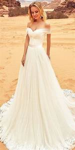 strapless sweetheart off the shoulder wedding dresses With oksana mukha wedding dresses
