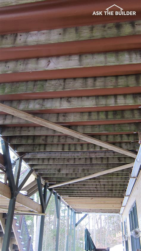Deck Joist Cover by Diagonal Brace Tips Ask The Builderask The Builder