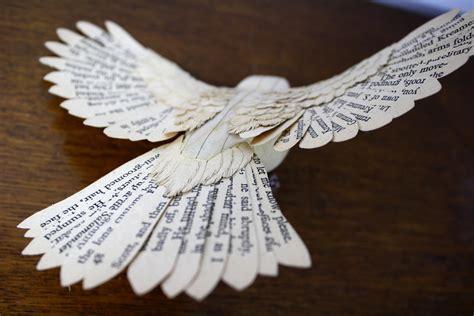 handmade wood paper birds  zack mclaughlin colossal