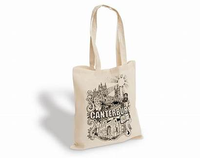 Printed Bags Tote Bespoke Cotton Bag Canvas
