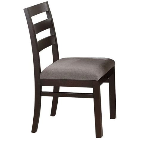 coaster furniture 103102 dabny dining chair in cappuccino