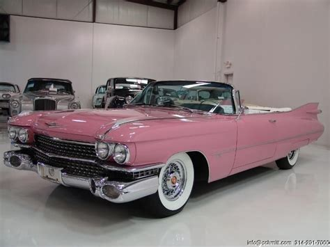 1959 pink cadillac convertible classic just need some