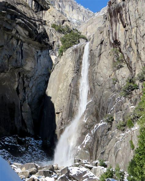 Yosemite National Park Winter Wonderland With Short
