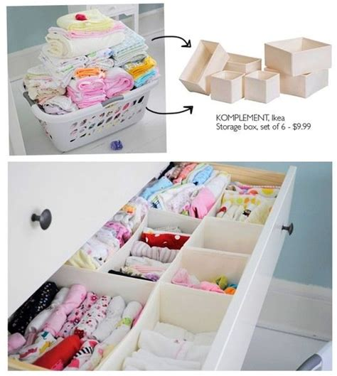 organizing baby drawers baby dresser organization baby stuff pinterest storage boxes bebe and resolutions
