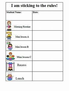 Search results for daily behavior chart template for Behavior charts for preschoolers template