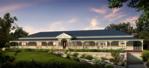 Kit Home Country Style  Home Design And Style
