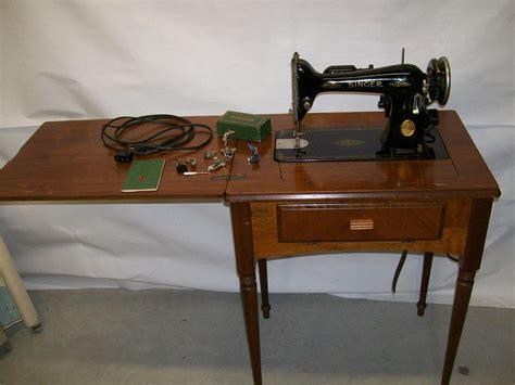 model 66 16 singer sewing machine walnut cabinet serial ag842084 ebay
