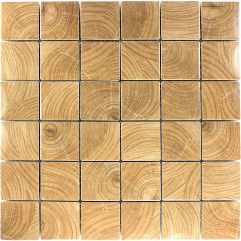 Keramik Effekt Mosaik Fliesen Holz Optik Tm33129m