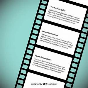 Film strip vector template vector free download for Film strip picture template
