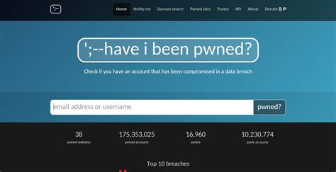 Have I Been Pwned? Alternatives And Similar Websites And