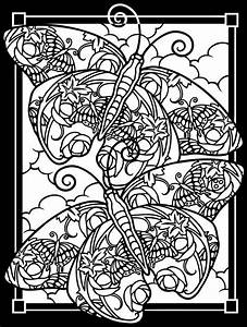 cool design coloring pages to print - printable stained glass coloring pages printable
