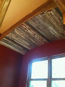 old barn wood trim in bath construction projects With barnwood trim