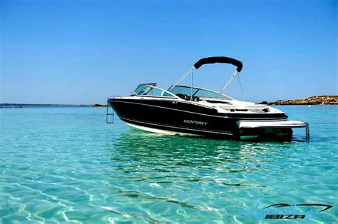 Monterey Boats by Motor Boat Rentals In Ibiza Motor Boat Rentals Monterey 224fs
