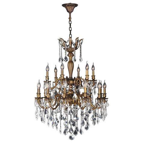 Worldwide Lighting Versailles 18 Light Antique Bronze