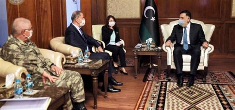 Turkish defense minister, military chief visit Libya - anews