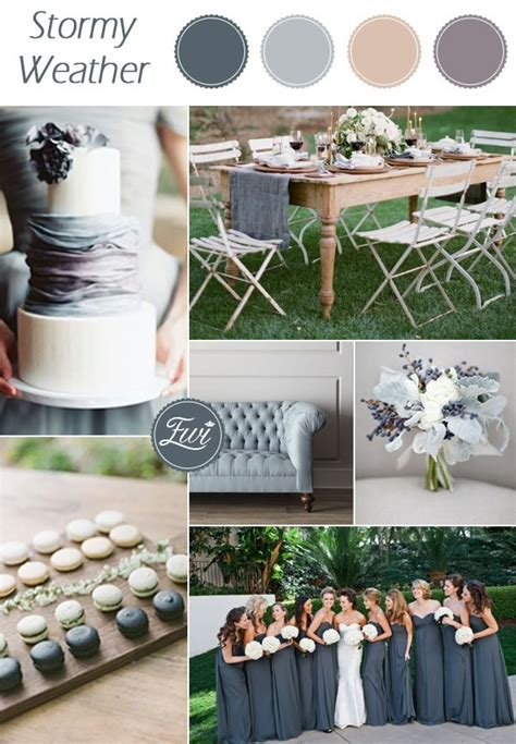 wedding color schemes for fall best 25 grey wedding colors ideas on grey