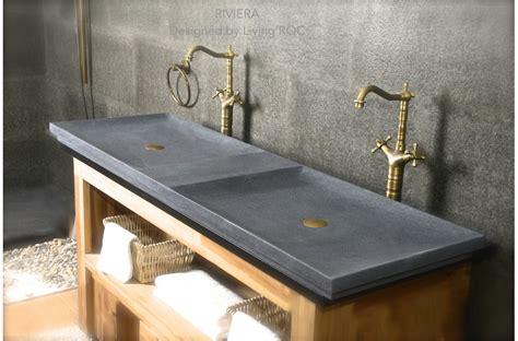 concrete trough sink 63 39 39 trough trendy gray granite bathroom sink riviera