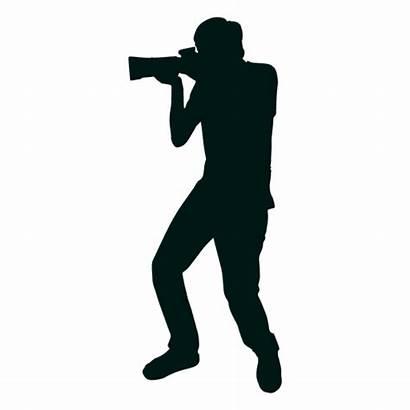 Silhouette Shooting Photographer Transparent Vector Svg Camera