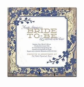 vintage bridal shower invitation 5x5 square lace wood With wedding invitation templates 5x5