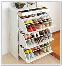 shoe storage solutions Cool and Fancy Shoe Racks | HomesFeed